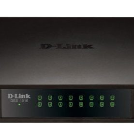 D-LINK  16-port 10/100 desktop switch (DES-1016A)