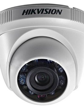 Hikvision 2MP 1080P HD Indoor Night Vision Dome Camera (White)