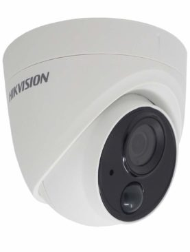 Hikvision 2MP Ultra-Low Light PIR Dome Camera 3D-DNR, WDR, IP67 and OSD MENU