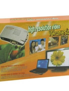 VGA Video Conversion VGA to Video S-Video / PC to TV (VGA to AV ) Converter Box