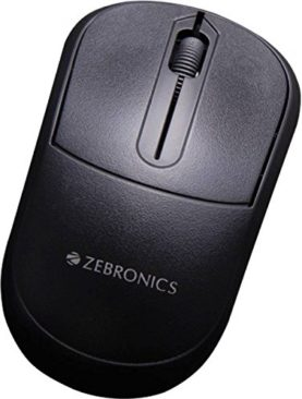 Zebronics USB Comfort + Wired Optical Mouse