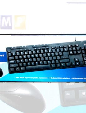 TVS CHAMP Wired Keyboard Mouse...