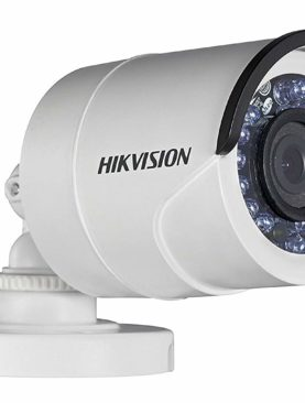 Hikvision HD Series DS-2CE1AD0T-IRPF 2 MP 1080P Turbo HD Outdoor Bullet Camera (White)