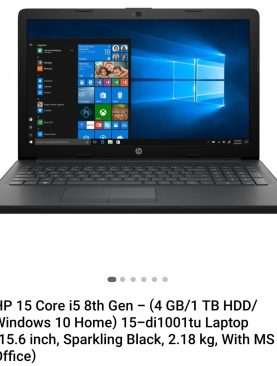 HP (15 - di1001tu) LAPTOP
